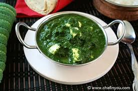 Paneer Spinach